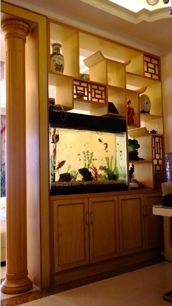 家庭装修博古架设计