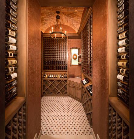 欧式风格的酒柜效果图