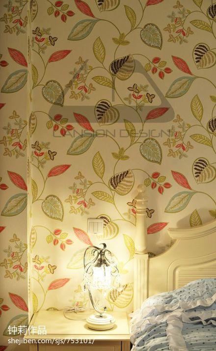 精选78平方二居卧室混搭装修设计效果图片