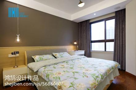 热门面积94平简约三居卧室装修设计效果图