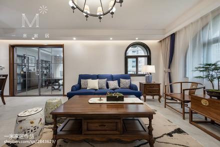 精選135平米四居客廳混搭装修实景图片欣赏