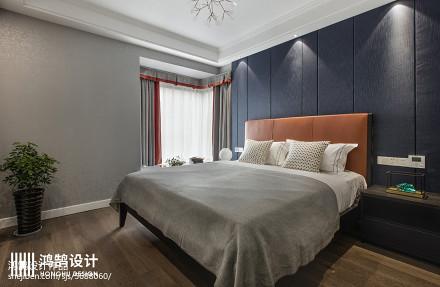精选101平方三居卧室现代装修实景图片