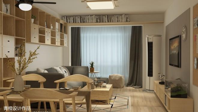 2018精选二居客厅日式装修实景图片