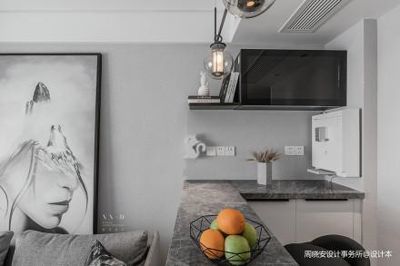 精致54平现代二居厨房装饰美图